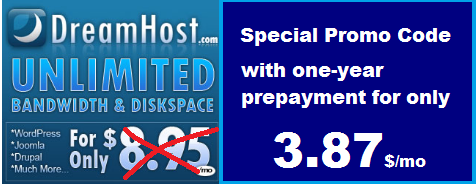 DreamHost. Promo Code.
